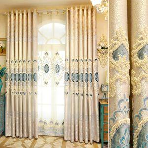 cortina de tecido atacado sala de estar quarto apagão cortinas conjuntos high-end personalizado para cortina de venda pura janela valances frete grátis