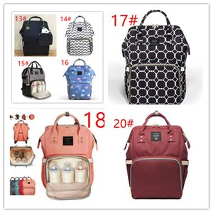 Land 26 colors Mommy Backpacks Nappies Bags Mother Maternity Diaper Backpack Large Volume Outdoor Travel Bags Organizer retail MPB01DHL