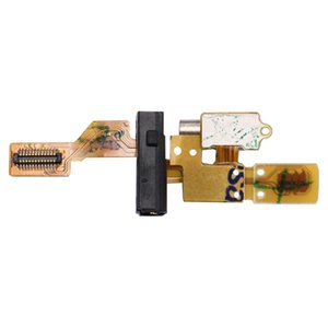 For Huawei Ascend G7   C199 Earphone Jack Flex Cable & Vibrating Motor Flex Cable
