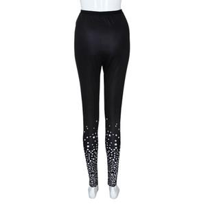 Fashion Plus Size Womens Sexy Leggings Trousers Sport Print Casual Pants#25