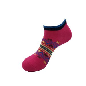 Sommermens Frauen rote Farbe kurze Socken Cutton Mischung Bequeme Jugendliche Socken Aktive Socken Herren-Unterwäsche