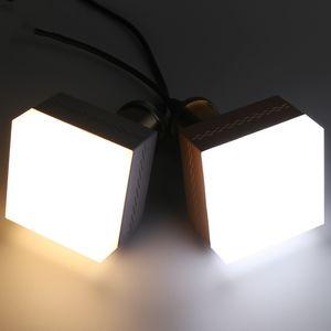 E27 квадратный светодиодный свет 5 Вт 9 Вт 13 Вт 18 Вт 28 Вт 38 Вт лампада супер яркий прожектор лампа для дома комната склад