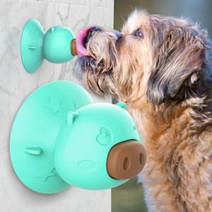 2020 Hot Pet Supplies di vendita calda di Sucker Toy Dog Lick Lick articoli per la tavola del piatto dentizione Biscotti educativi morso-resistente forniture di gomma del cane