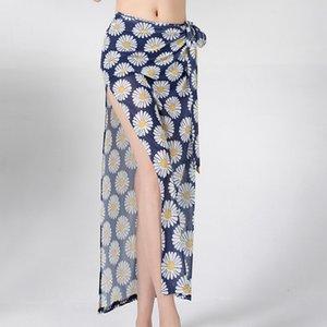 2020 Eastern Kleidung Bauchtanz-Rock Einstellbarer Druck Lange Röcke für Frauen Oriental Tanzen Röcke Bauchtanz