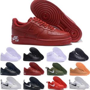nike air force 1 2020 Nuovo Skate scarpe da uomo scarpe per uomo donna One Utility Confezione bassi Sport sneakers Mens Trainers Air 1 Zapatillas US36-46 C6 in corso