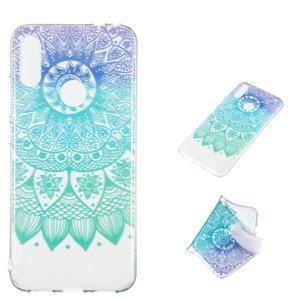Datura Bell Pattern Highly Transparent TPU Protective Case for Xiaomi Redmi Note 7