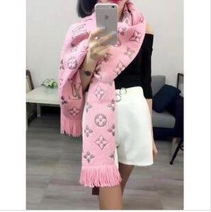 New 2019 Fashion scarf Winter MANIA SHINE Scarf Luxury Women Men Two Side Black Red Silk Wool Blanket Scarfs Designer Scarves Shawls