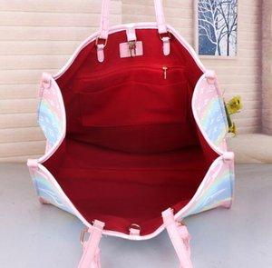 Designer Handbag Totes coordinata con sacchetto di lusso Womens Pastello Borsa Estate Escale Tote Unicorn borsa pastello Moda