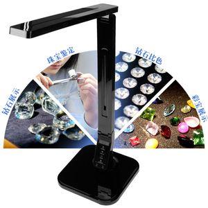 Светодиодные лампы ювелирных изделий с USB зарядного Gemstone Testing Instrument Алмазных Detection лампы вспомогательного источником свет привели Gemstone Джейд идентификацию
