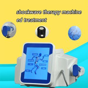 O MAIS NOVO !!! Física Shock Wave sistema de dor Terapia Máquina Para alívio da dor pneumático Shockwave Treatment tratamento da artrite dispositivo CE / DHL