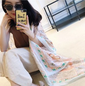 Chinese wind autumn new scarves emulation silk chain spend long scarf scarf female temperament air conditioning shawl