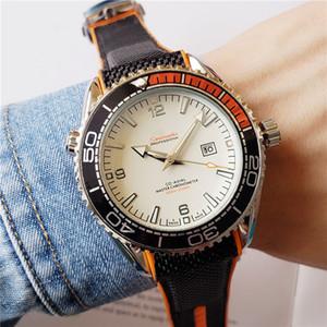 Роскошные мужские часы для спорта мужской дизайнер часы Большой размер 44мм Морской конек часы Мода Стиль выбора 13 цветов Резиновые наручные часы ди Lusso