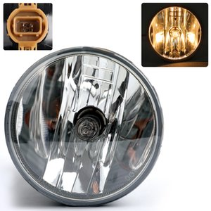 Areyourshop Car Pair Clear Fog Lights Driving Lamps Fit For 07-13 Chevy Avalanche Suburban Tahoe GMC Car Auto Accessories Parts