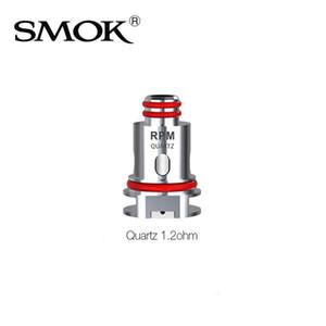 Smok RPM40 키트 5PCS / 팩 100 % 원래 설계 SMOK RPM40 코일 1.2ohm (석영) 교체 코일