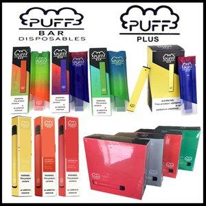 Puff Puff Bar plus Starter Kit Einweg Vape Pen 1,3 ml 280mAh Akku Gerät Pod E Zigaretten posh Plus Vaporizer Pens