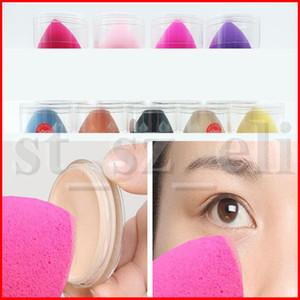 Makyaj sünger Kozmetik puf kadın makyaj aracı kitleri makyaj için yüz bakımı ile pürüzsüz vakıf sünger kutusu