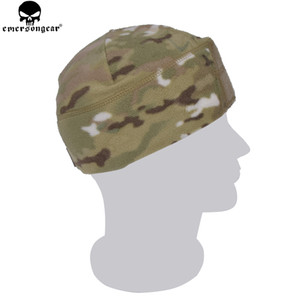EMERSONGEAR Fleece Watch Cap Warm Stretchable Comba Hat Tactical Accessory Head Wear Skull Cap Multicam Black Foliage Green Beanie
