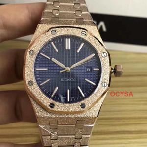 GEADA ouro luxuoso mecânico automático movimento senhora Gmt Men Mens Designer diamante Tag Relógios de pulso Relógios homem montre de l