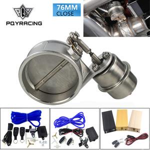 """PQY - Auslasssteuerventil mit Unterdruckausschnitt 3 """"76 mm Rohr GESCHLOSSEN mit ROD mit Funkfernbedienung Set PQY-ECV04 + ROD + ACC"""