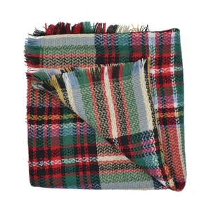 Bebés Meninas Inverno manta xale manto Crianças lenço poncho cashmere Gabardinas Casacos Crianças Coats Jackets Roupa Roupa