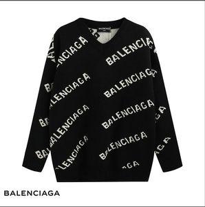 Europe and America Best-selling Sweater V collar Pullover Men Brand sweater Long Sleeve Designer Sweatshirt Letter Knitwear Winter New Desi