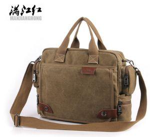 MANJIANGHONG мужчины холст сумка мужской Crossbody мешок холст плеча сумки мужская сумка бизнес сумка портфель