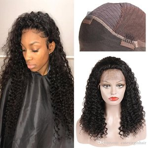 H Brazilian Human Hair Curly Lace Front Wigs Kinky Curly Wig Styles Human Hair Weaves Peruvian Malaysian Hair Lace Front Wigs