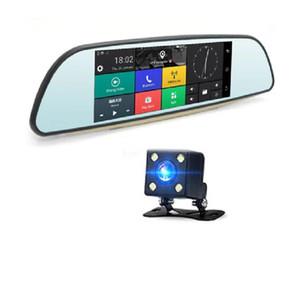 1PC Car Dual Lens GPS FHD 1080P DVR Rearview Camera Black car dvd