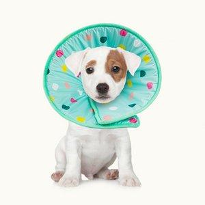 Pet Elizabeth Circle Guard Collar Ring Dog Anti Bite Soft Sponge Safety Protective Shield Wound Cover Pet Dog Cat Neck Collar
