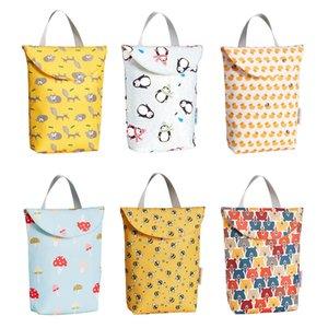 Baby Diaper Bag Multi-function Wet Dry Diaper Mommy Bags Storage Bag