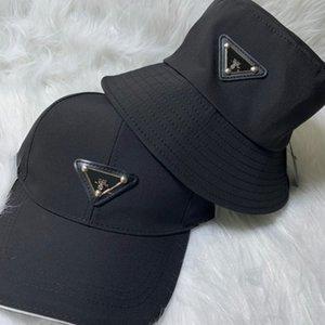 Nouveau 20SS Casquette de baseball noire chapeau de pêcheur Mode Hommes et femmes Couple Designer de haute qualité d'été Chapeau HFXHMZ007