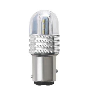 2PCS السيارة LED S25 1157-3030-6SMD Strobe Flash Light Day Running Light Turning Reversing