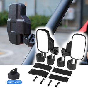 "Cheap ATV Parts & Accessories KEMiMOTO 1.75\"" 2\"" UTV Mirror Side Rearview Mirrors for Polaris RZR PRO XP 800 900 1000 Ranger"