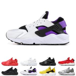 Gros chaussures de course de Huarache pour hommes, femmes VARSITY JACKET PURPLE PUNCH triple hommes rose blanc noir trainer baskets de sport