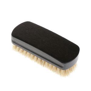 Shoe Brush Gloss Spazzole maiale setole della spazzola spazzola di pulizia scarpe