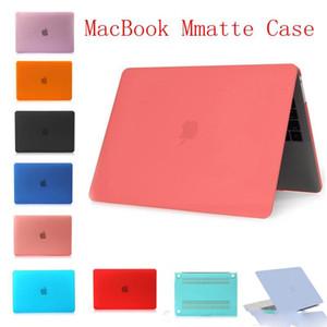 Glassata di caso opaco duro gommato per Macbook Pro 15,4 13,3 13,3 Bianco Pro portatile Full Cover di protezione