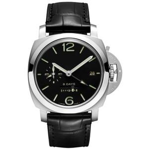 nuovi mens orologi Orologio automatico 316 orologio di precisione quadrante 44 millimetri in acciaio uomo guarda il calendario orologio meccanico PAM00576
