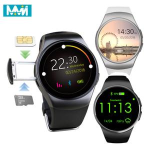 Inteligente reloj KW18 Hombres Soporte de tarjeta SIM TF Bluetooth Llamada del ritmo cardíaco podómetro impermeable del deporte SmartWatch Para Android IOS dropshi