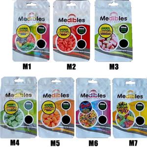 Hot Medibles Gummibärchen Süßigkeiten Beutel LoL edibles Süßigkeiten Verpackungsbeutel verbunden Blau Plätzchen Dschungel Jungen Taschen Runtz Verpackung Mylar Zipper-Taschen