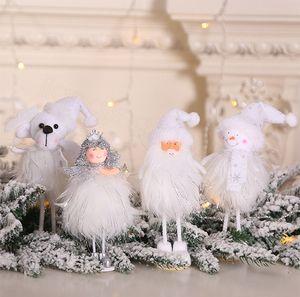 4Styles рождественские подарки украшения плюшевые игрушки стоячие фигурки окно снеговик дисплей элементы детские игрушки party favor FFA3432