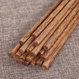 Japonesa Natural de madeira de bambu Chopsticks Saúde sem verniz cera Louça Louça Hashi Sushi chinês