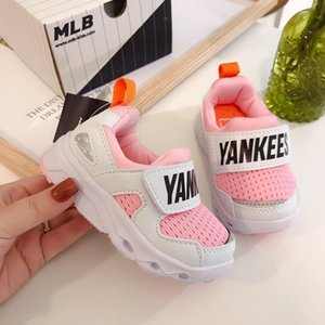 2019 hot kids shoes sneakers boys girls platform flat Breathable kids shoes chaussures Net surface Casual Sports Running toddler Shoes