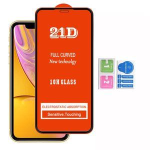 Schermo 21D copertura completa vetro temperato protezione per Iphone 12 SE 2020 IPHONE12 IPHONE 11 pro max XR XS 6 7 8 LG K31 K51 K61 stylo 6 K50S K41S