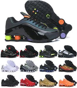 2020 Original Entregar TL 1308 mens executando calçados esportivos baratos Chaussures R4 Wmns ENTREGAR OZ NZ Air Men Triplo Preto Branco Tn Sneakers
