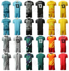 2020 portiere di calcio 13 gennaio Oblak Jersey Set Men Portiere GK 1 Antonio Adan 1 Miguel Angel Moya Football Shirt Kit MJ Uniform