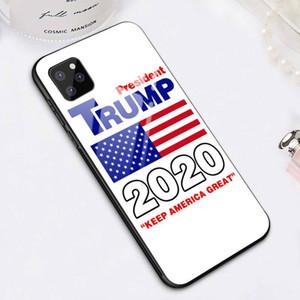 للحصول على اي 11 حالة الهاتف الانتخابات ترامب 2020 خفف الهاتف شل للبالإضافة إلى 2020 D22801 XR XS ماكس تغطية اي فون 11 5S الموالية 6S 7/8