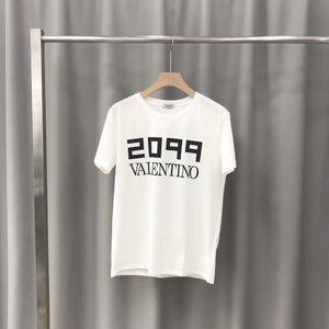 Summer Mens Fashion T Shirts Letter Flower Print Green Brand Clothing Camisetas de manga corta para hombre Plus Size Tee 8284
