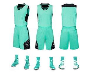 Новые мужские баскетбольные формы, комплект спичек купить на заказ, DIY печатный дышащий жилет тренировочный трикотаж. Так круто