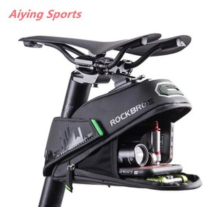 Aiying Sports Rainproof bicicleta Bag à prova de choque da bicicleta Saddle Bag Para Refletive traseira Grande Capatity Seatpost MTB bicicleta Bag Acessórios