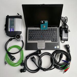 Strumento diagnostico MB stella C4 Sd collega C4 camion auto con la funzione senza fili di WIFI con V09.2020 HDD Super Multi-lingue in computer portatile D630